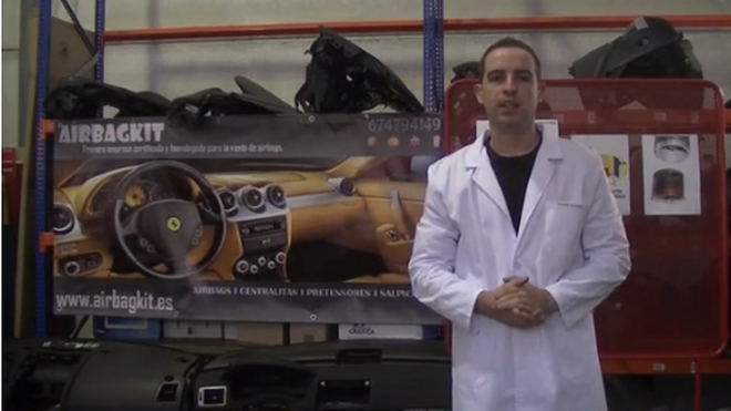 Cómo es el airbag y sus componentes (1ª parte)