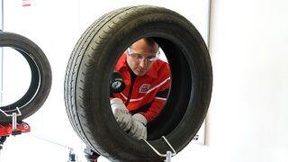 Consejos para la reparación de neumáticos en invierno