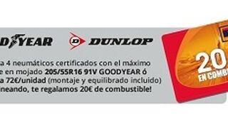 GNG ofrece 20 € en combustible por la sustitución de neumáticos