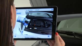 Realidad aumentada para facilitar el mantenimiento al conductor