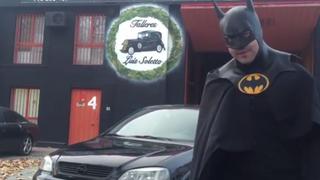 Batman, aliado para promocionar servicios del taller