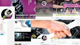 Los profesionales de la posventa eligen InfoTallerTv en sus redes sociales
