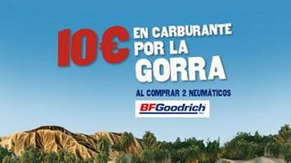 Carburante y gorra de regalo por elegir BF Goodrich en Euromaster