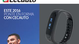 Cecauto regala una pulsera de actividad al comprar pastillas y discos de su marca