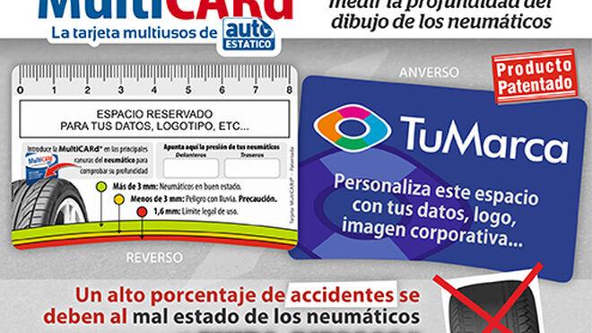 MultiCARd, la tarjeta multiusos de Autoestatico