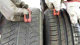 Cuatro de cada diez conductores circula con neumáticos ilegales