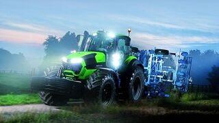 La Serie Deutz-Fahr 9 de Hella incorpora un faro a medida para tractor