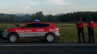 La policía navarra busca en talleres y desguaces al coche que provocó un atropello mortal
