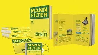 250 nuevos tipos de filtros en el nuevo catálogo de Mann-Filter