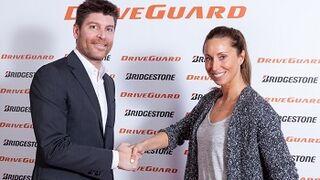 Gemma Mengual, embajadora del Bridgestone Driveguard