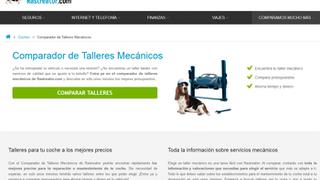 Rastreator.com incorpora comparador de talleres a su oferta a través de Tallerator