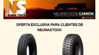 Ofertas exclusivas para clientes de Neumastock