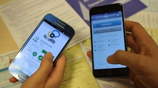 La app para declarar siniestros desde el móvil alcanza los 1.000 partes
