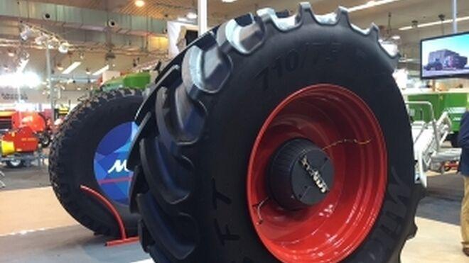 El neumático agrícola luce en Fima 2016