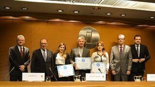 La 'Carrera del Taller' premia a la triatleta Zuriñe Rodríguez y a Stop Accidentes