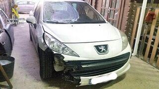 Un taller ilegal ocultaba un coche implicado en un atropello mortal