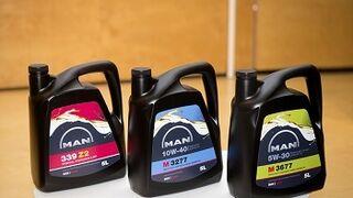 Man Fluids, nueva gama de lubricantes propios de Man