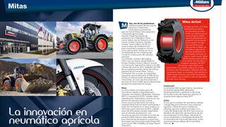 Mitas, la innovación en neumático agrícola