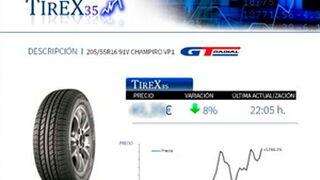 Tirex35 alcanza el 18% del total de transacciones online de Tiresur en su primera semana