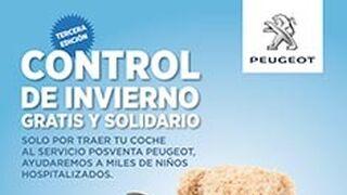 Peugeot recauda más de 200.000 € para niños hospitalizados