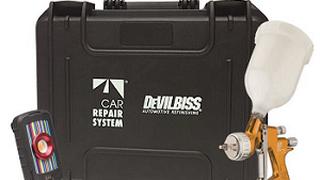 Car Repair System promociona un maletín con productos DeVilbiss