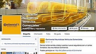 Continental regala un juego de dos neumáticos a sus fans de Facebook