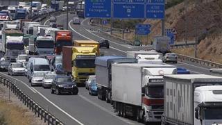 El transporte de mercancías por carretera creció el 6% en 2015