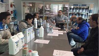 PPG forma a los profesionales de su distribuidor La Tienda del Pintor