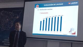 Lausan facturó el 2,6% más en 2015