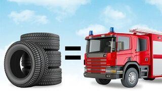 Renovar cuatro neumáticos ahorra casi el mismo agua que consume un adulto al año