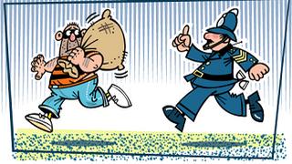 La Policía sorprende in fraganti a dos ladrones en un taller de Valladolid
