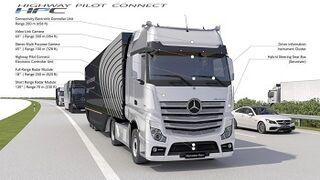 Daimler ya tiene más de 365.000 de sus camiones conectados