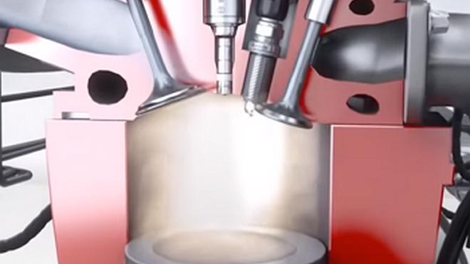 Cómo funcionan los motores  de inyección directa de gasolina FSI