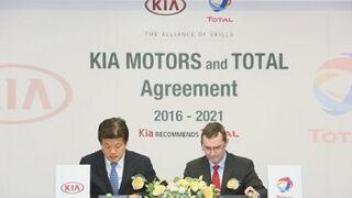 Total, socio exclusivo de Kia en lubricantes hasta 2021