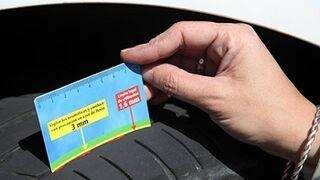 El 61% de los conductores no cambia los neumáticos si cumplen con la medida mínima legal