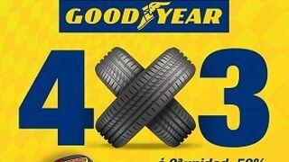 Confortauto ofrece 4x3 o 2ª unidad al 50% en neumáticos Goodyear
