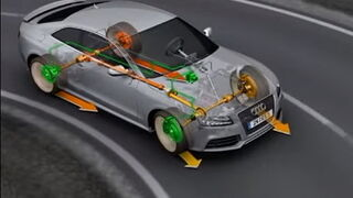 Cómo funciona la tracción total Quattro de Audi