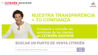 Citroën lanza una web para que sus clientes valoren el servicio de su red