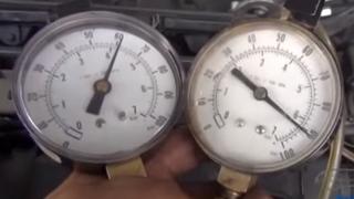 Diagnosticar un fallo por exceso de presión de combustible