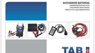 Nuevo catálogo de accesorios para baterías de TAB Batteries