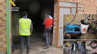 Desmantelan otro taller ilegal en Burgos