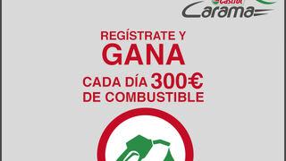 Castrol Carama, regístrate y gana cada día 300 euros de combustible
