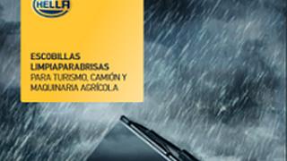 Hella presenta su nuevo catálogo de escobillas para turismo, camión y maquinaria agrícola