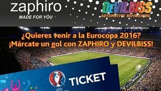Zaphiro invita a ver a La Roja en la Eurocopa