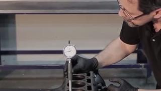 Cómo realizar la medición del desgaste de un cilindro