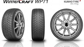 Kumho presenta WinterCraft WP71, su nuevo neumático UHP de invierno