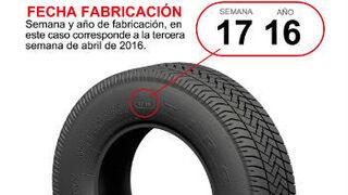 Los neumáticos no tienen fecha de caducidad, según Adine