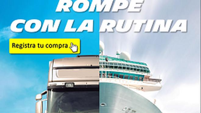 Euromaster regala un crucero al comprar neumáticos de camión Michelín