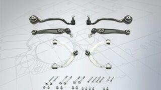 Nuevo kit de brazos de suspensión Meyle para BMW y Mini