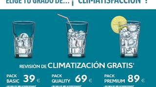 Citroën regala revisión de climatización por recargar el aire acondicionado en sus centros